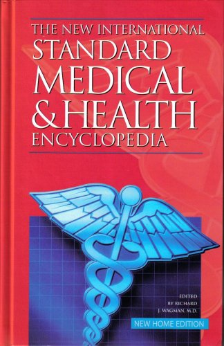 Large book cover: The New International Standard Medical and Health Encyclopedia