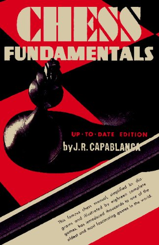 Large book cover: Chess Fundamentals