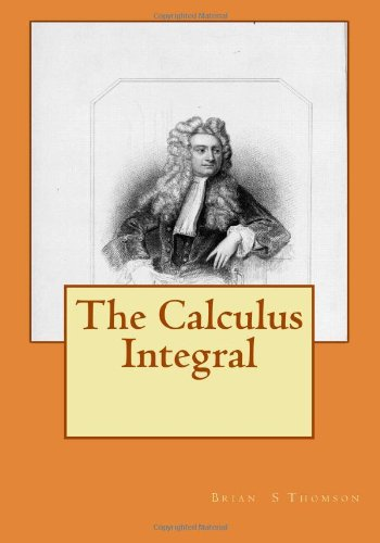 Large book cover: The Calculus Integral