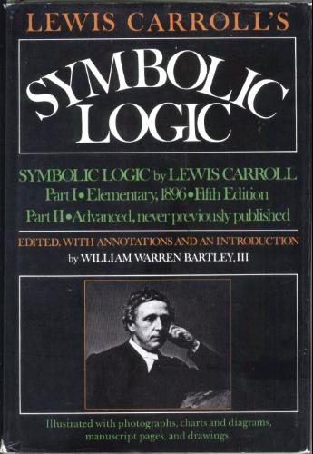 Large book cover: Symbolic Logic