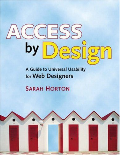 Large book cover: Access by Design: A Guide to Universal Usability for Web Designers