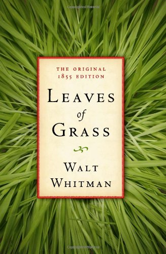 Large book cover: Leaves of Grass