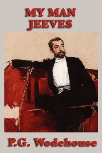 Large book cover: My Man Jeeves