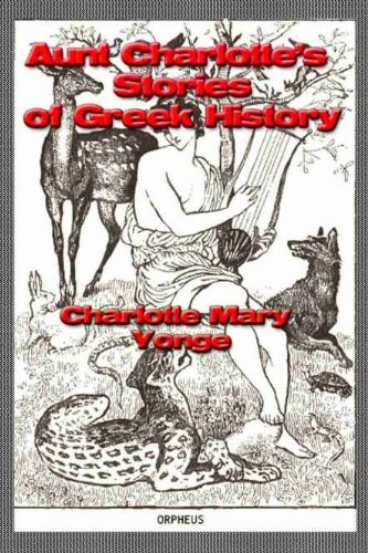 Large book cover: Aunt Charlotte's Stories of Greek History