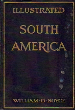 Large book cover: Illustrated South America