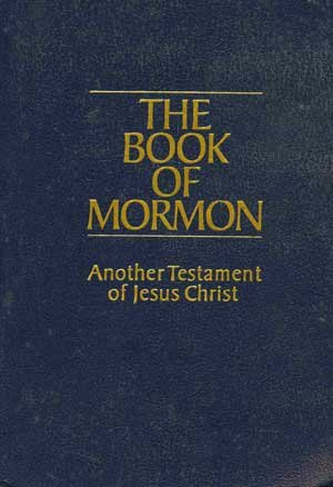 Large book cover: The Book of Mormon