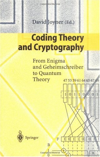 Large book cover: Coding Theory and Cryptography