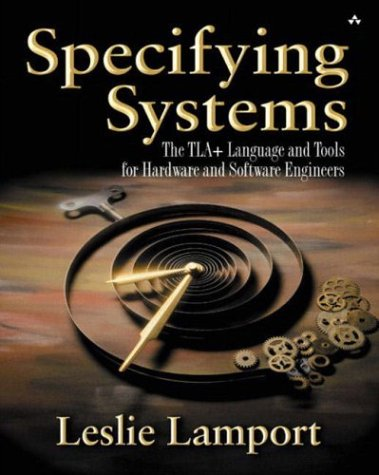 Large book cover: Specifying Systems