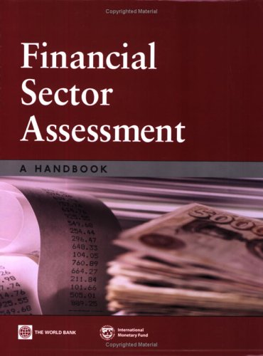 Large book cover: Financial Sector Assessment: A Handbook