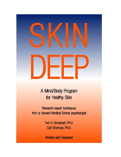Large book cover: Skin Deep: A Mind/Body Program for Healthy Skin