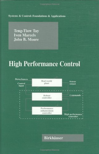 Large book cover: High Performance Control