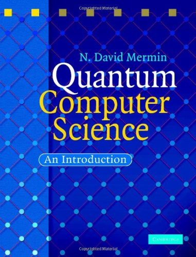 Large book cover: Quantum Computer Science