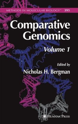 Large book cover: Comparative Genomics