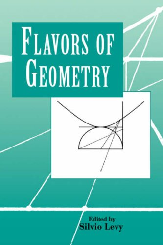 Large book cover: Flavors of Geometry