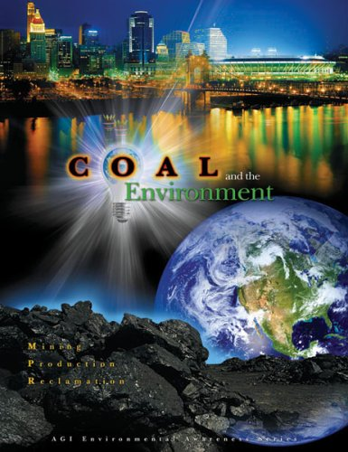Large book cover: Coal and the Environment