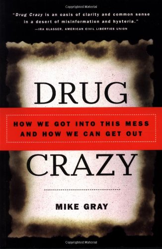 Large book cover: Drug Crazy