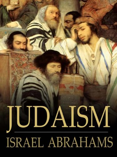 Large book cover: Judaism