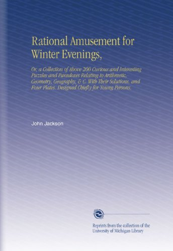 Large book cover: Rational Amusement for Winter Evenings