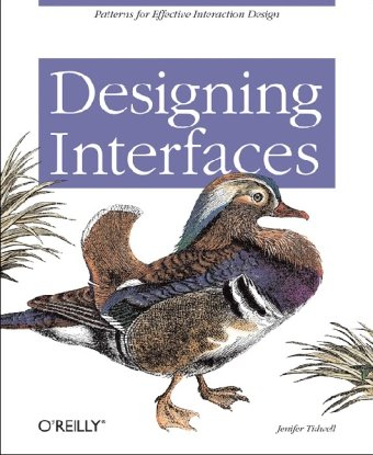 Large book cover: Designing Interfaces: Patterns for Effective Interaction Design