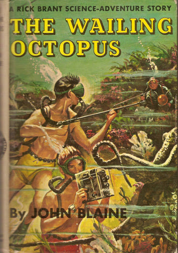 Large book cover: The Wailing Octopus
