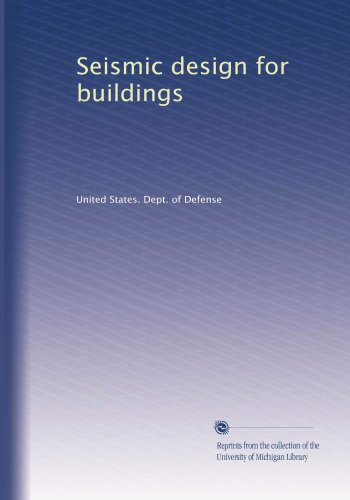 Large book cover: Seismic Design for Buildings