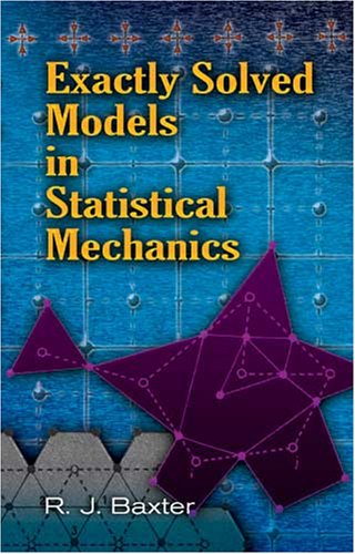 Large book cover: Exactly Solved Models in Statistical Mechanics