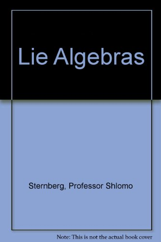 Large book cover: Lie Algebras