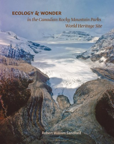 Large book cover: Ecology and Wonder in the Canadian Rocky Mountain Parks