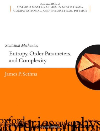 Large book cover: Statistical Mechanics: Entropy, Order Parameters and Complexity