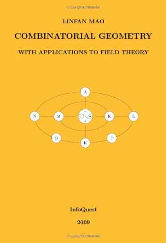 Large book cover: Combinatorial Geometry with Application to Field Theory