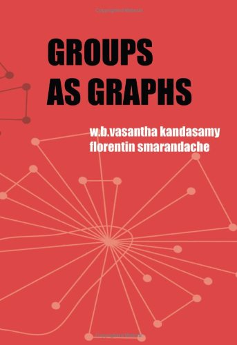 Large book cover: Groups as Graphs