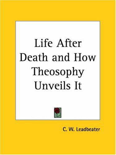 Large book cover: The Life After Death