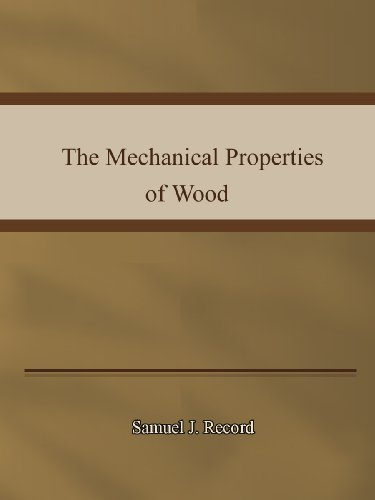 Large book cover: The Mechanical Properties of Wood