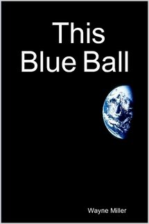 Large book cover: This Blue Ball