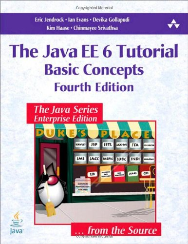 Large book cover: Java EE 6 Tutorial, Volume I