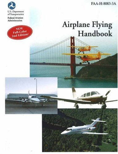 Large book cover: Airplane Flying Handbook