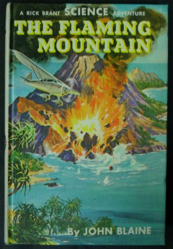 Large book cover: The Flaming Mountain