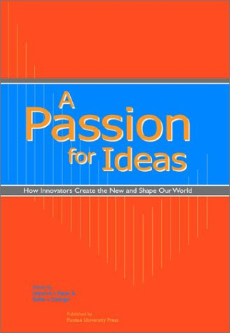 Large book cover: A Passion for Ideas