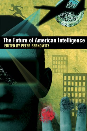 Large book cover: The Future of American Intelligence