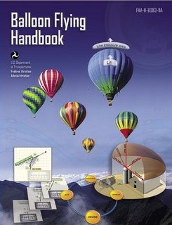 Large book cover: Balloon Flying Handbook