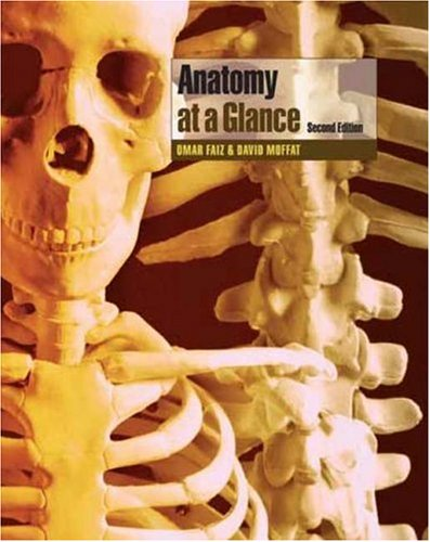 Large book cover: Anatomy at a Glance
