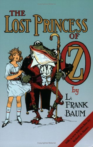 Large book cover: The Lost Princess of Oz [Audio Book]