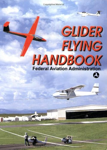 Large book cover: Glider Flying Handbook