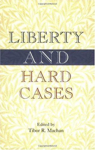 Large book cover: Liberty and Hard Cases
