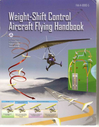 Large book cover: Weight-Shift Control Aircraft Flying Handbook