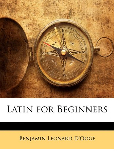 Large book cover: Latin for Beginners