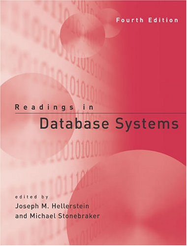 Large book cover: Readings in Database Systems