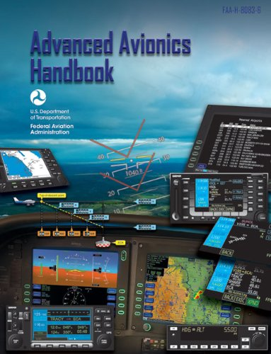 Large book cover: Advanced Avionics Handbook