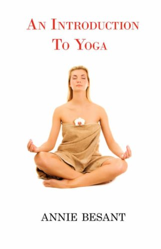Large book cover: An Introduction to Yoga
