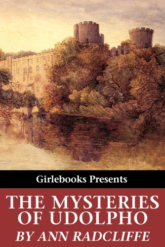 Large book cover: The Mysteries of Udolpho